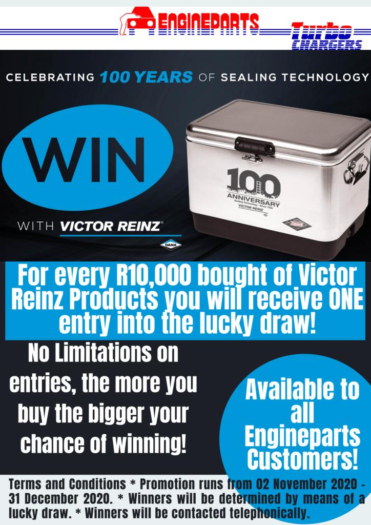 Victor Reinz Promotion